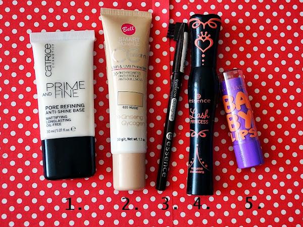 Ikdienas make-up minimums