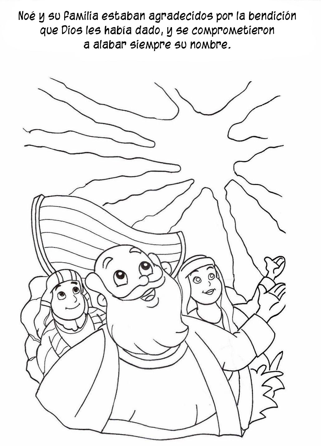 Compartiendo por amor: Historia Arca Noé en dibujos