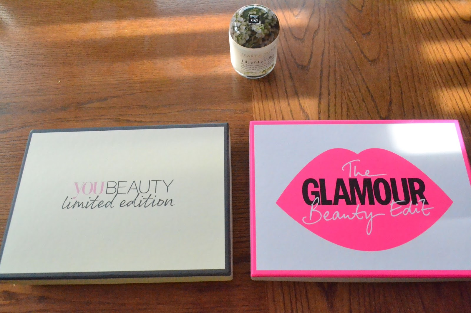 you beauty limited edition beauty box and glamour beauty box