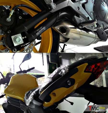 Kawasaki ER6N Pearl Shinning Yellow