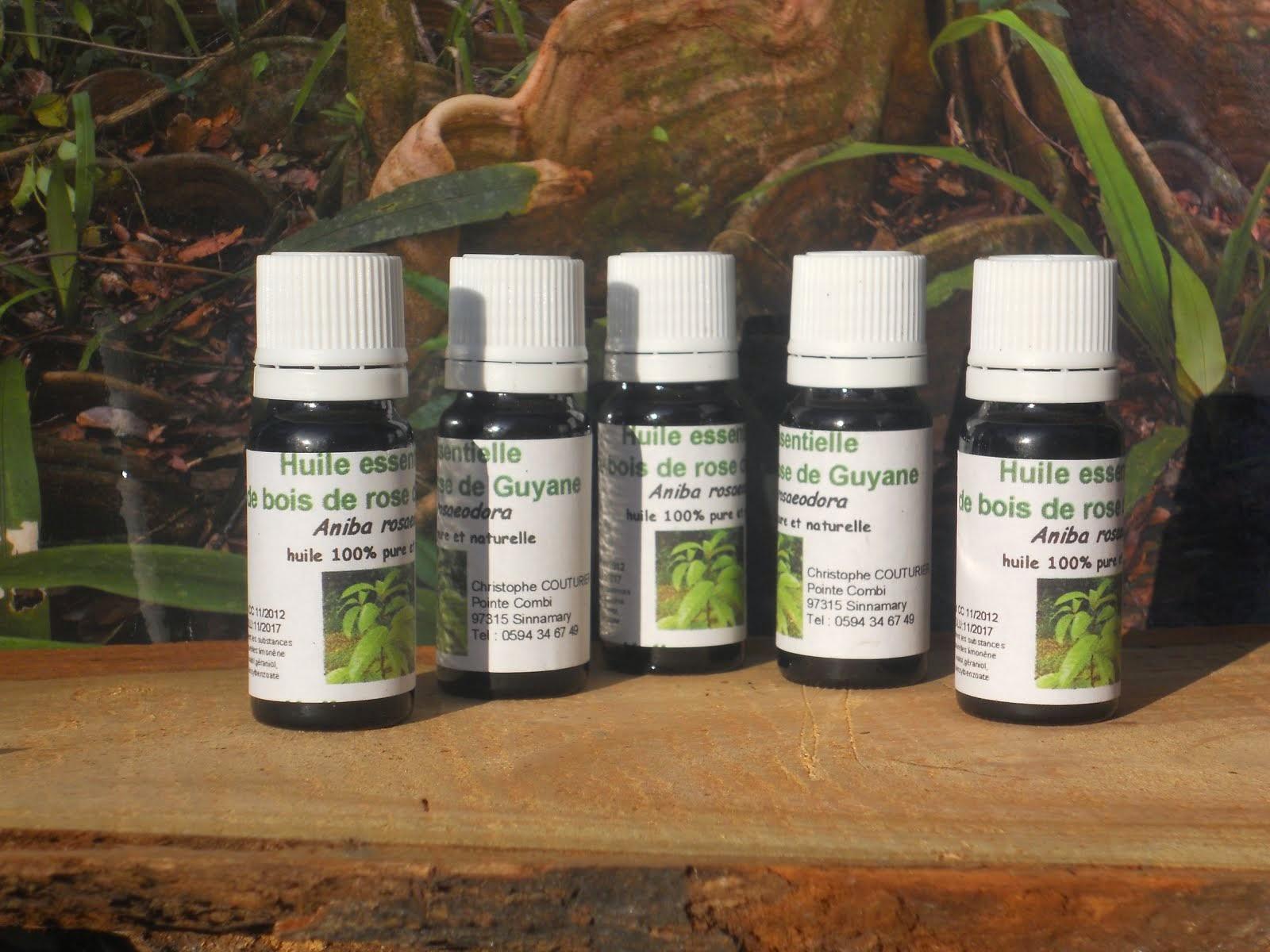 Acheter de L'huile essentielle de bois de rose