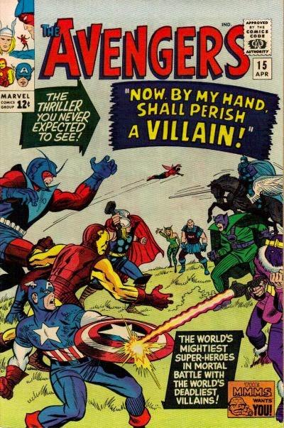 Avengers #15, Masters of Evil