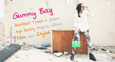 Gummy Bag : Tas Trendy dari Jepang hadir di Indonesia