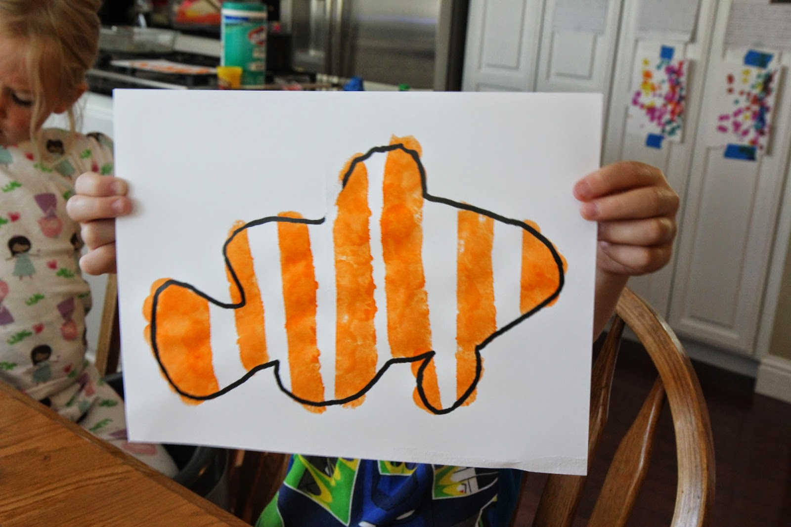 Toddler Approved Clown Fish Paddlepak And Craft For Kids Giveaway