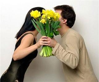 цветы мужчине
