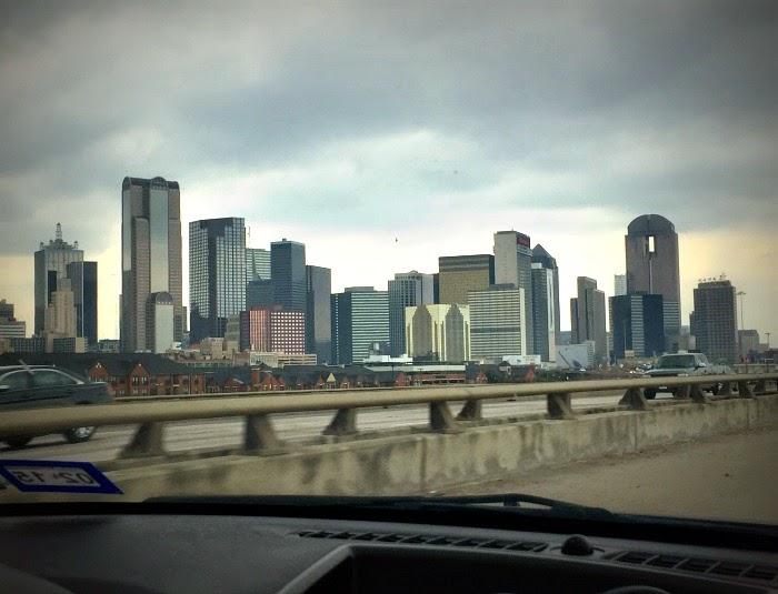 Dallas Texas city skyline