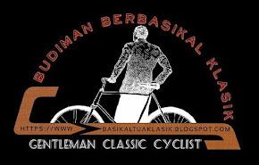 Logo Rasmi Budiman Berbasikal Klasik