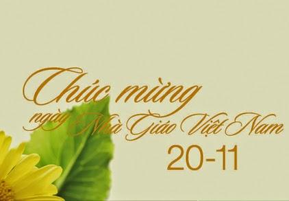 Ảnh đẹp và ý nghĩa cho ngày 20-11