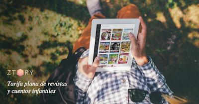 Ztory, tarifa plana de revistas y cuentos infantiles