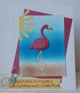MFT Flamingo Tickled Pink Sunshine Sunny Skies