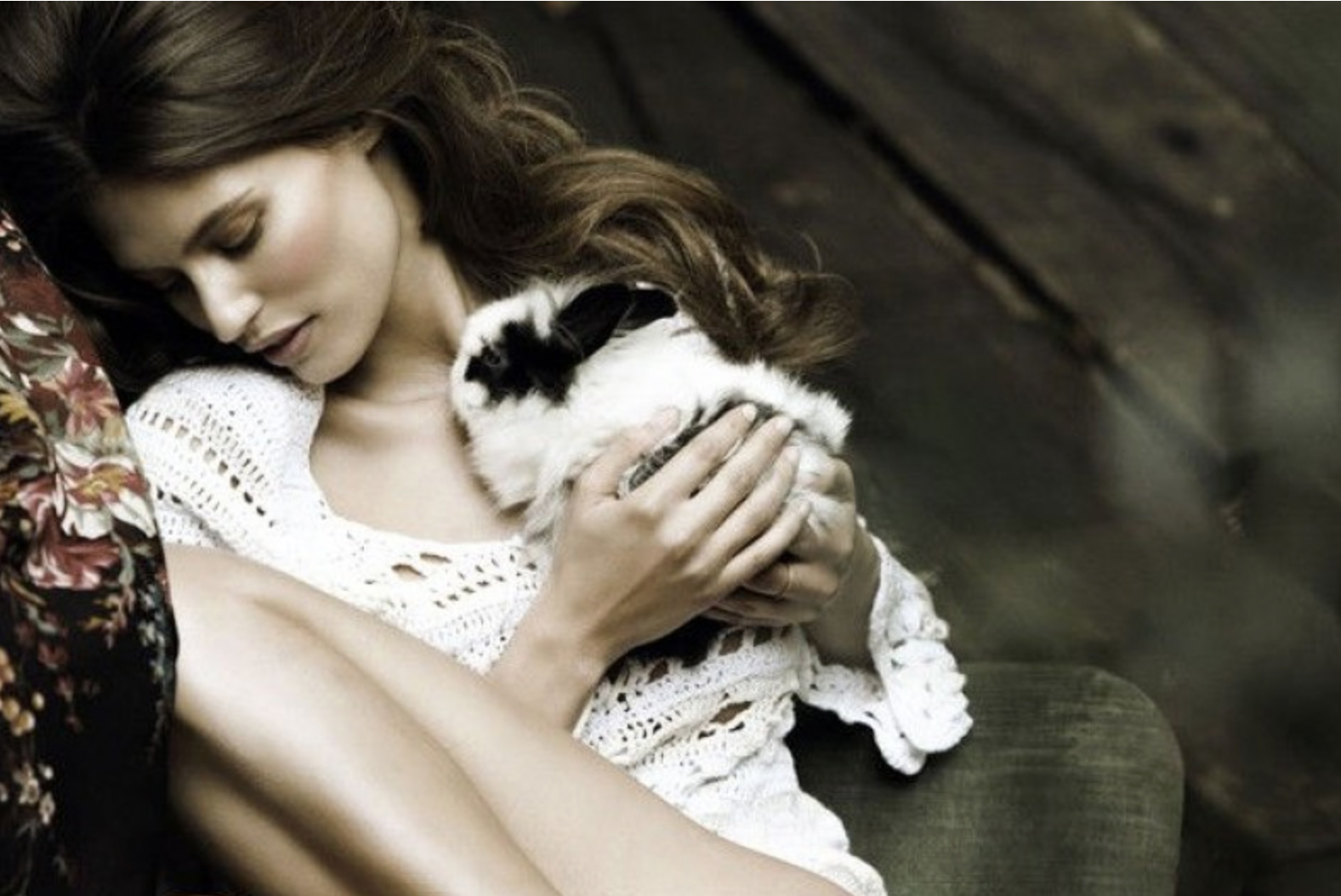 via fashioned by love | Bianca Balti in Vanity Fair Italy March 2011 (photography: Signe Vilstrup)