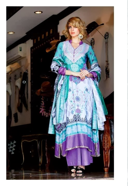 Printed Lawn Collection Suit