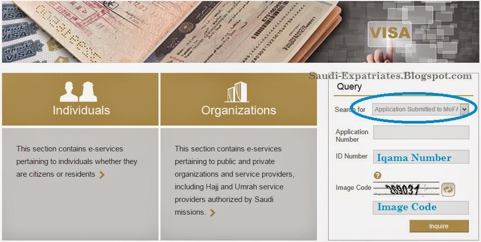 Family visit visa status online saudi family visit visa status stopboris Images