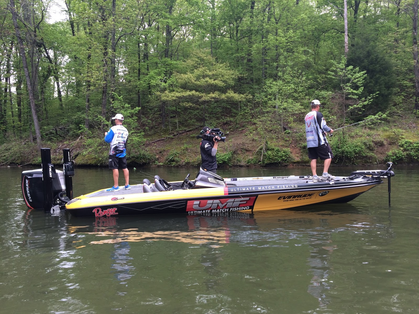 Ranger boats blog behind the scenes with ultimate match for Ultimate match fishing