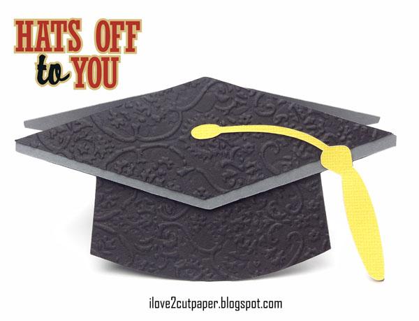 paper graduation hat