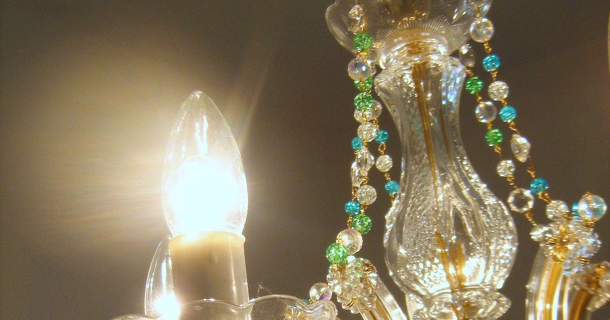 Saffron Yellow Journey Of A Crafting Mama Upcycled Chandelier - Upcycled chandelier crystals
