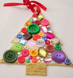 http://manualidadesnavidad.org/adornos-navidenos-con-botones/