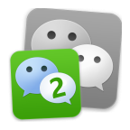 download 2lines for WeChat to open more than one  accaent on one device