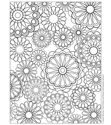 coloriage anti stress geometrique