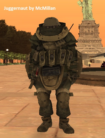 Gta san andreas mod modern warfare 2 juggernaut file information