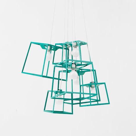 design by herwell: Large Frame Light Cluster