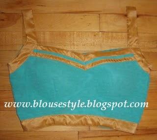 padad front blouse