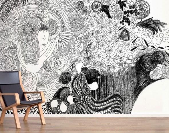 pareti con vinili decorativi