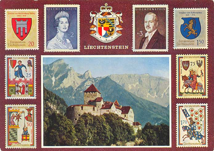 Image result for liechtenstein stamps