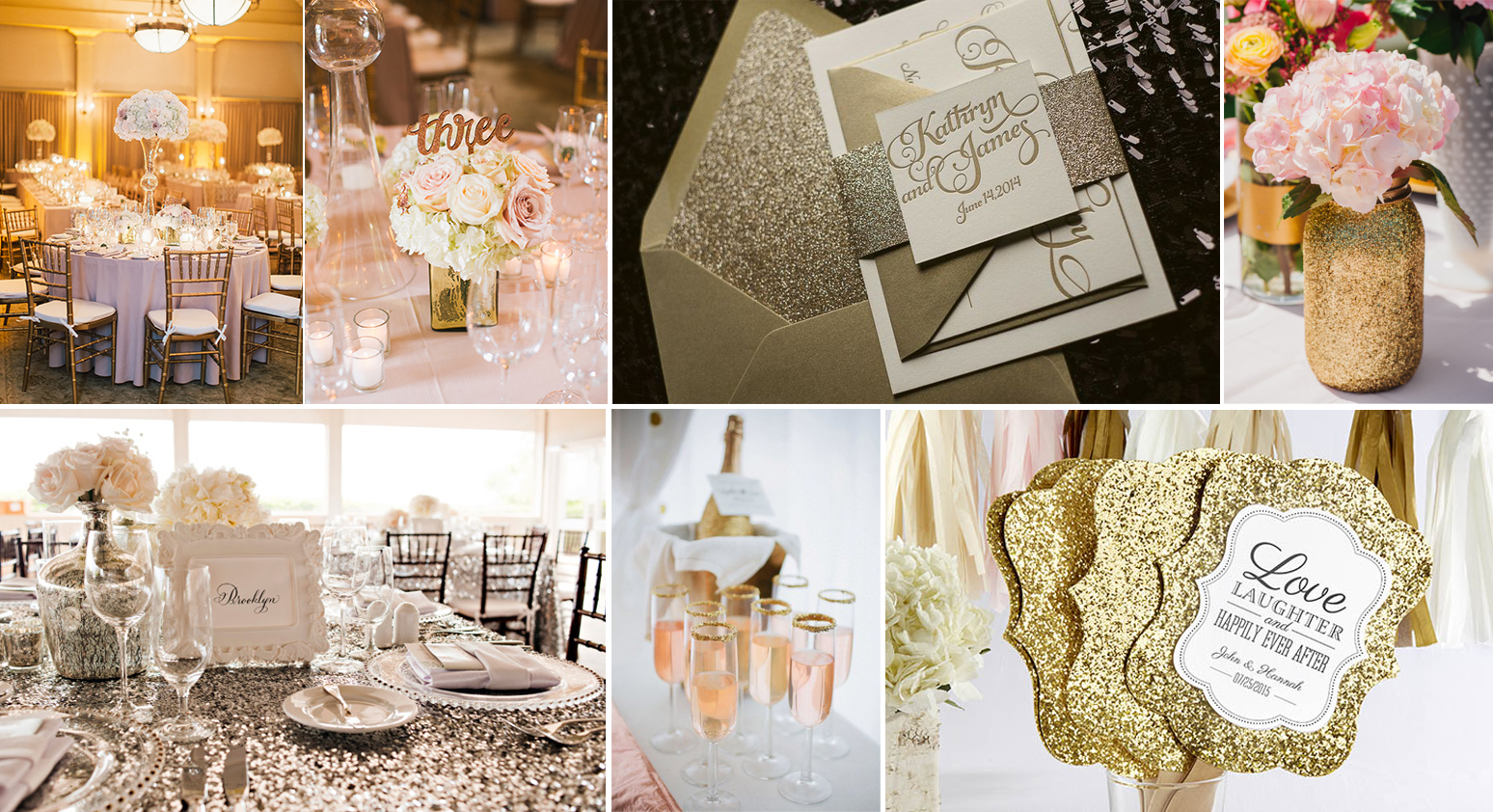 Matrimonio Tema Glitter : Parentesi wedding ispirazioni per un matrimonio in