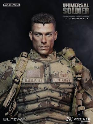 Luc Deveraux tratto dal film Universal Soldier