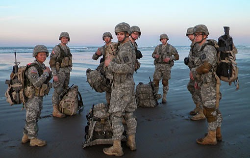 A joint team of UAA and UAF Army ROTC cadets won the Northwest Regional Ranger Challenge last fall. They will compete at the national level the last weekend in February.