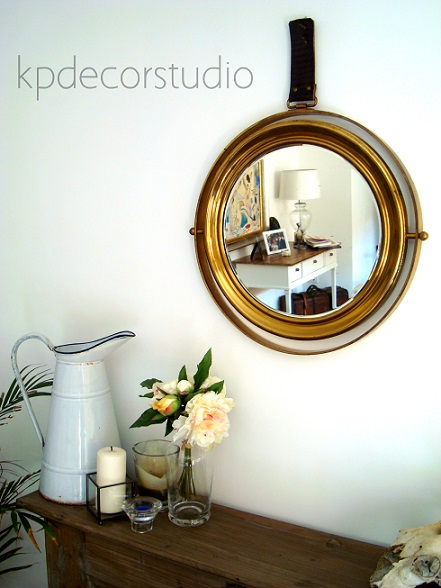 Kp Tienda Vintage Online Espejo Antiguo De Lat 243 N Brass