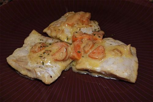 Receta de merluza en salsa cremosa