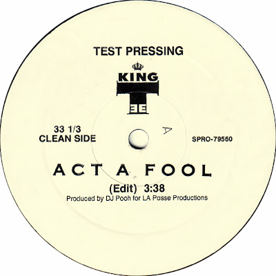 King Tee – Act A Fool (Test Pressing VLS) (1989) (320 kbps)