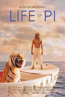 Life of pi, Hollywood, review, 2012