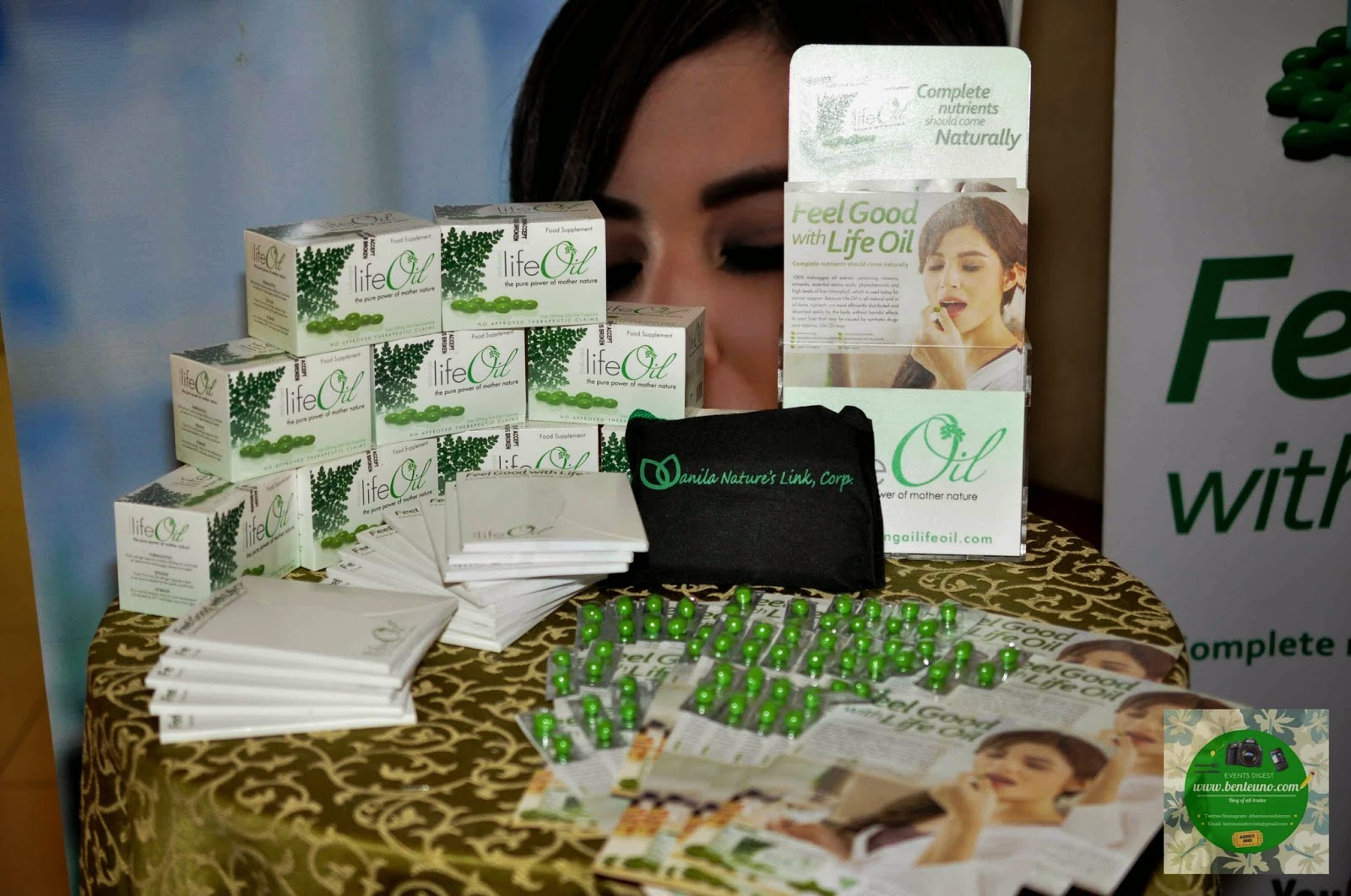 Life Oil Supplement made from Malunggay