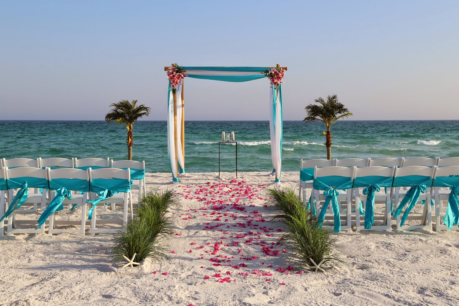 Ultimate Sunshine Wedding Package, Pensacola Beach Weddings
