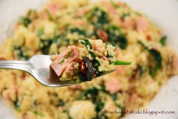 Sałatka z tuńczykiem i kuskusem