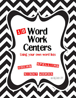 https://www.teacherspayteachers.com/Product/Word-Work-Centers-for-any-Word-List-1130238