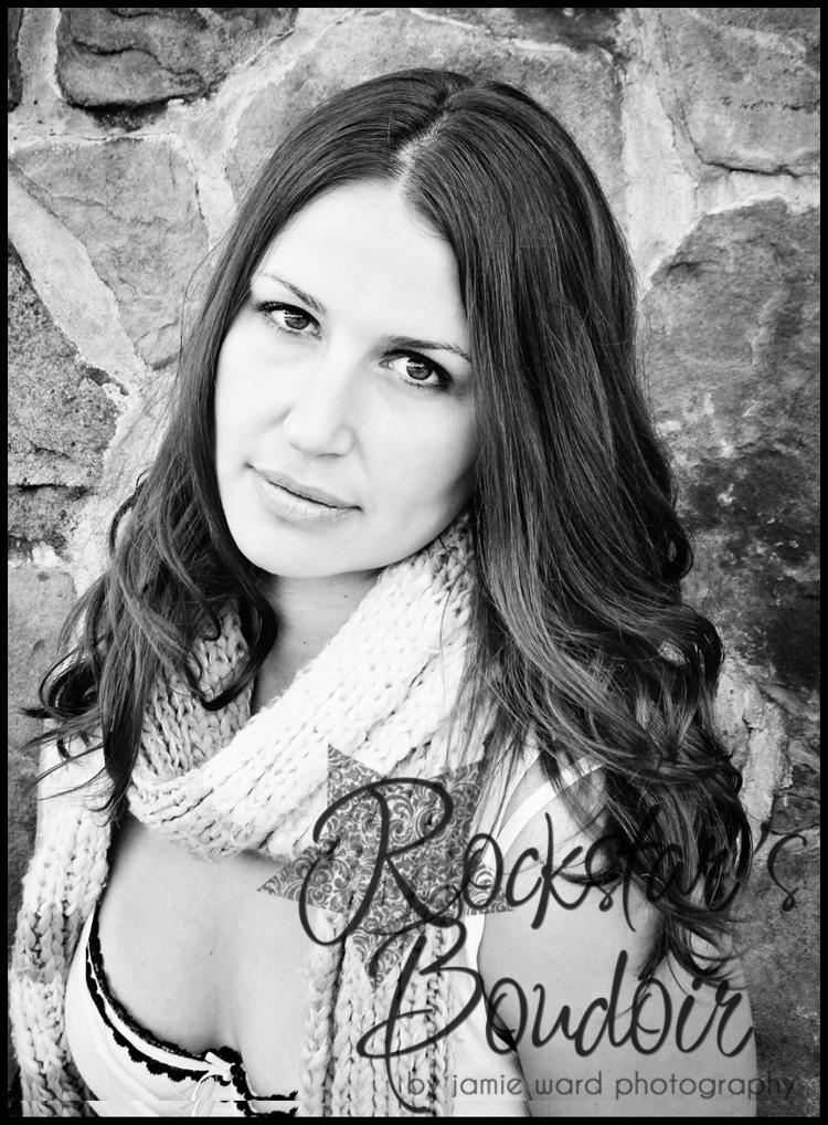 Rockstars Boudoir: Mrs M: Toledo Boudoir Photography