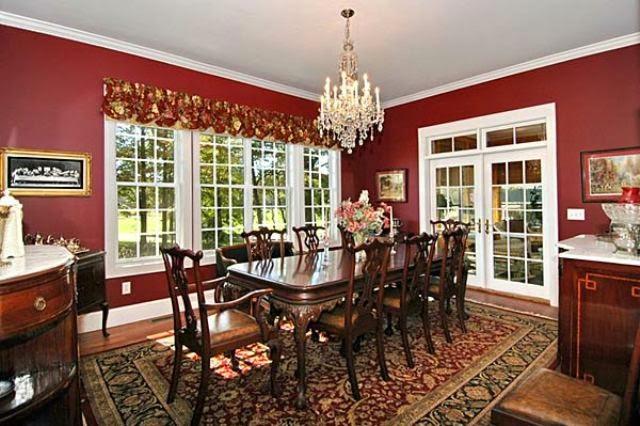 kombinasi warna cat ruang makan