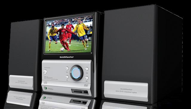 DVT-808 LCD TV li Müzik Seti Resim