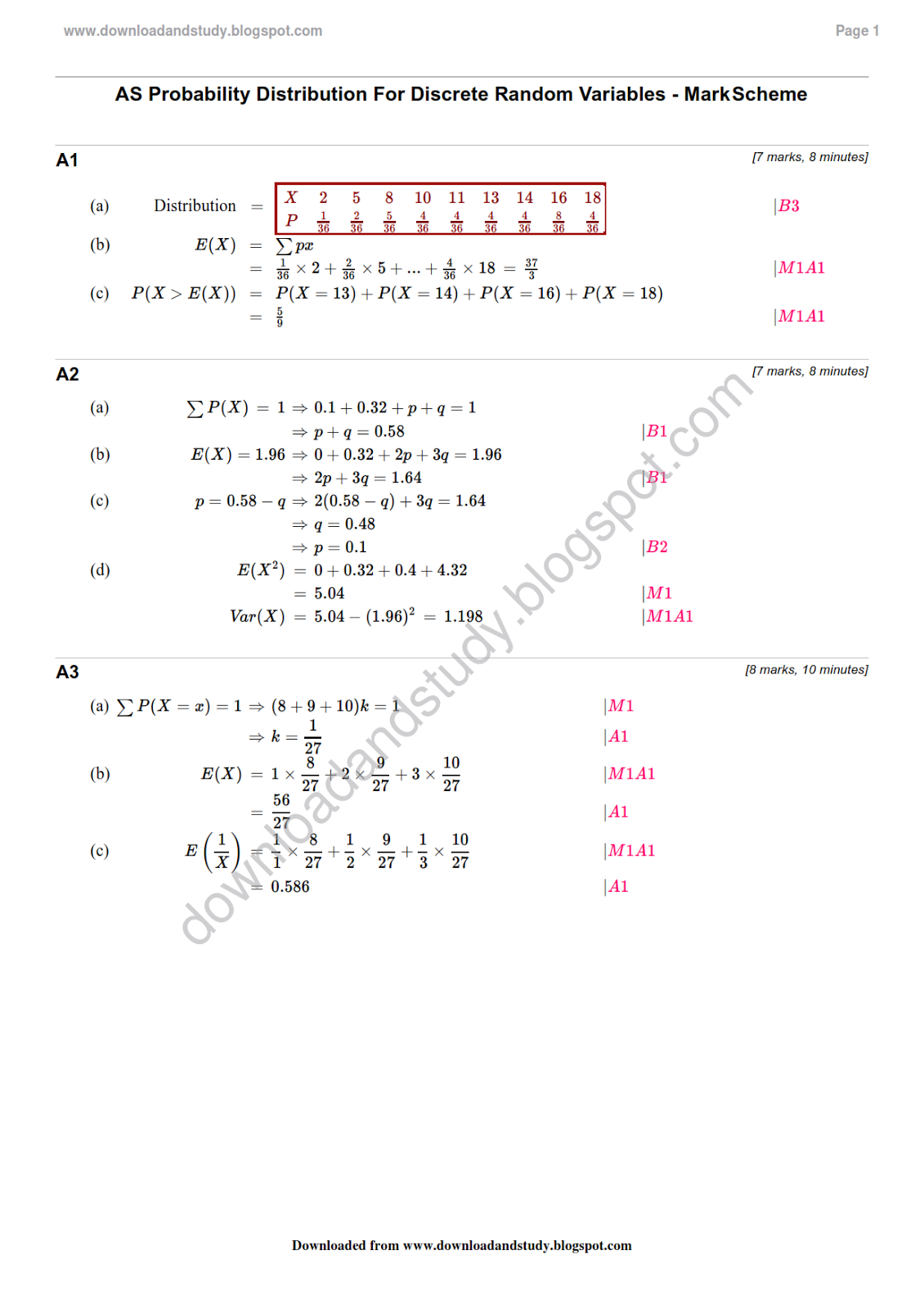 probability distribution essay Free probability papers, essays, and stochastic and normally distributed probability distributions allow for statistical analysis and modelling of returns.