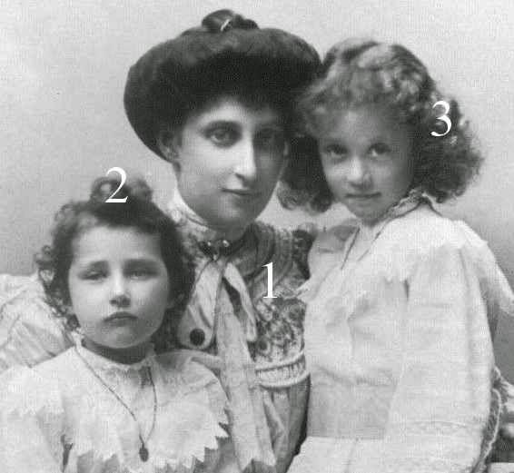 Ingeborg, Margaretha et Märtha de Suède