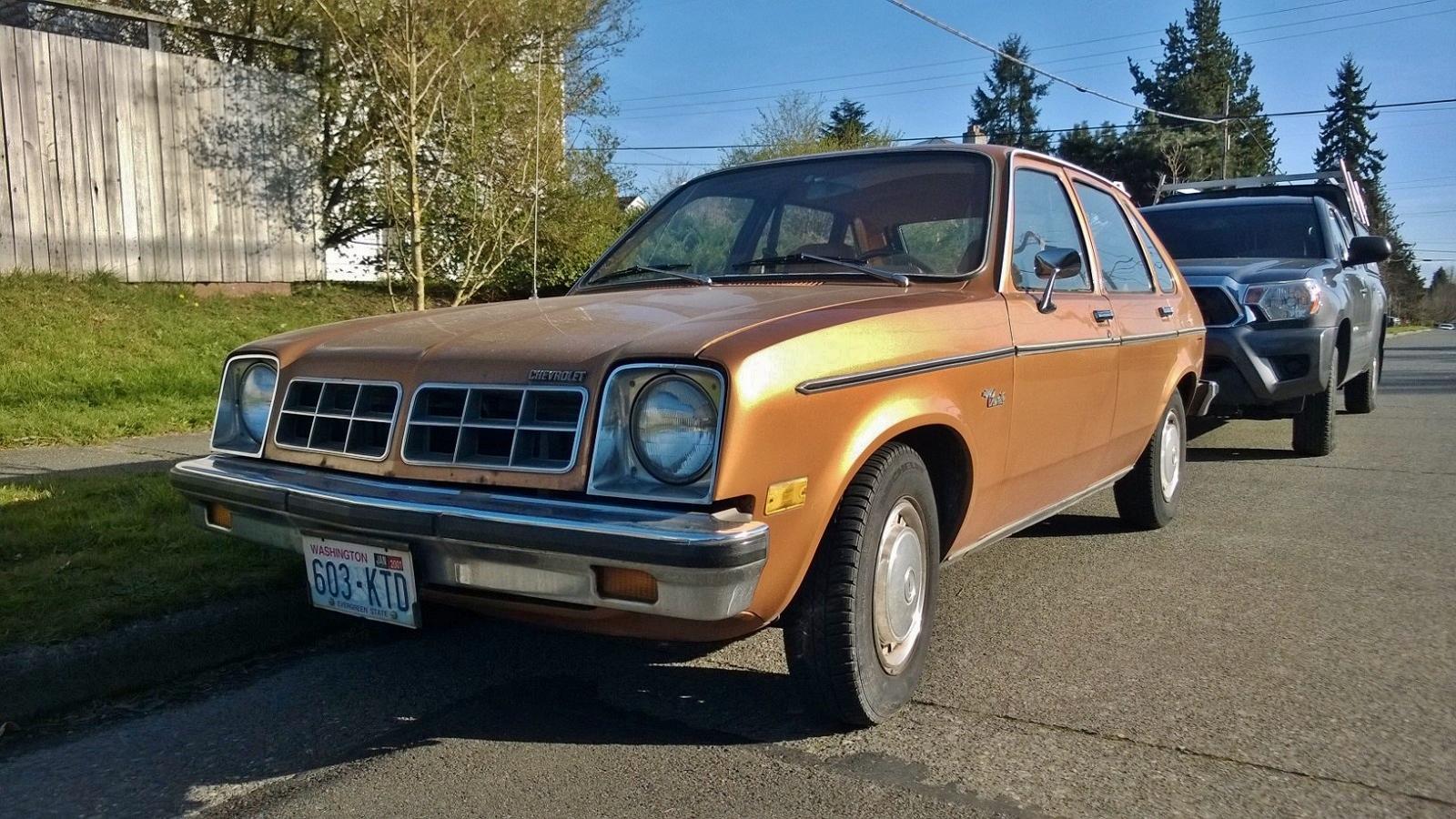 Seattle S Parked Cars 1978 Chevrolet Chevette 5 Door