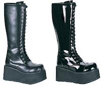 Platform Boots Gothic