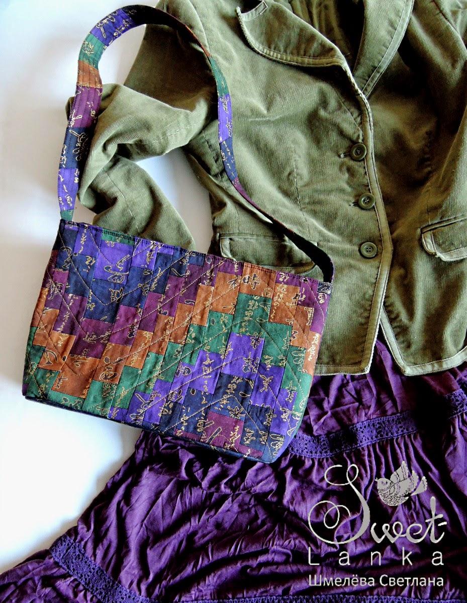 лоскутное шитье сумка