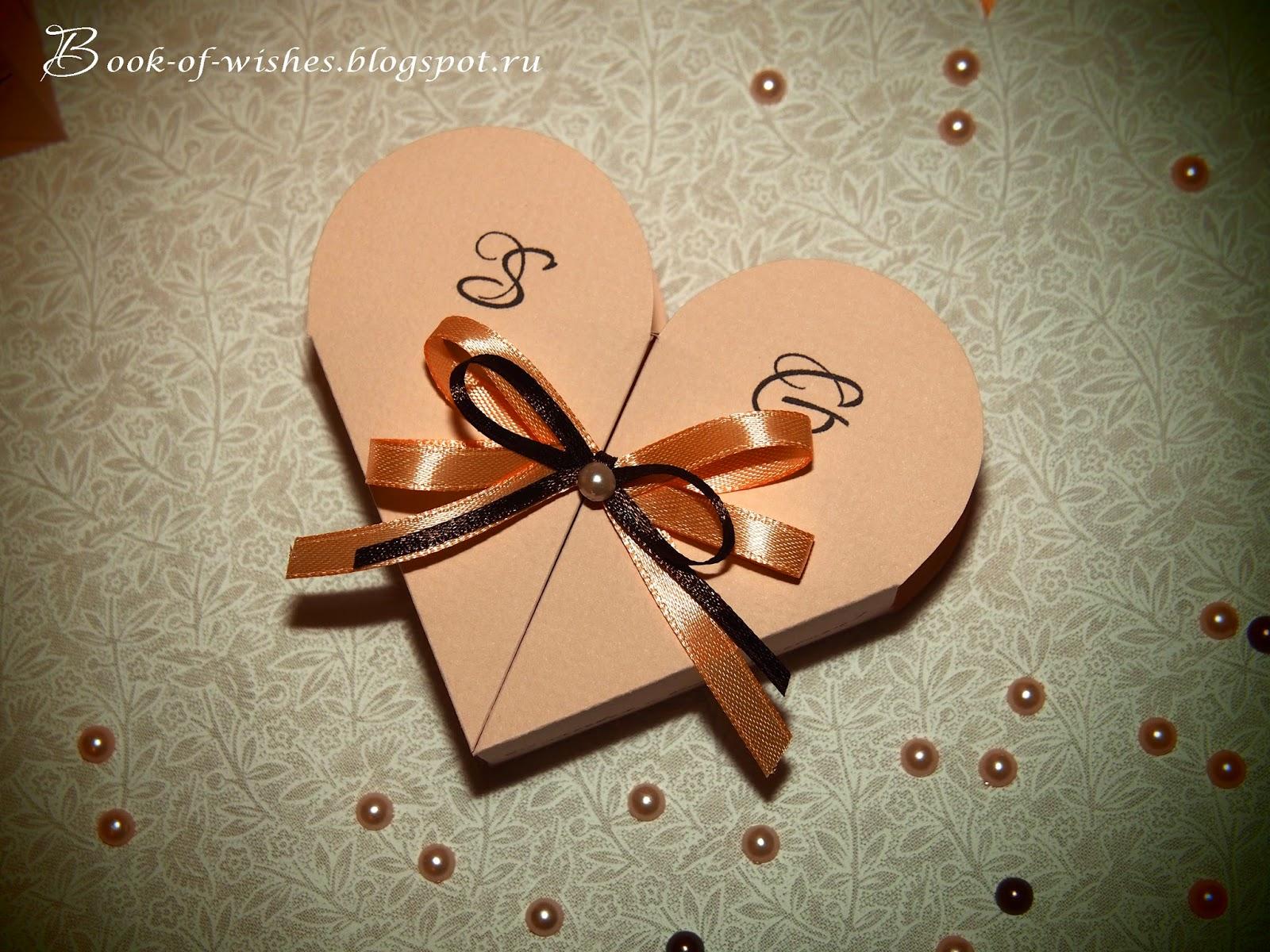 свадебные бонбоньерки своими руками