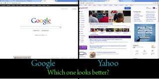 Yahoo vs Google - User interface and homepage