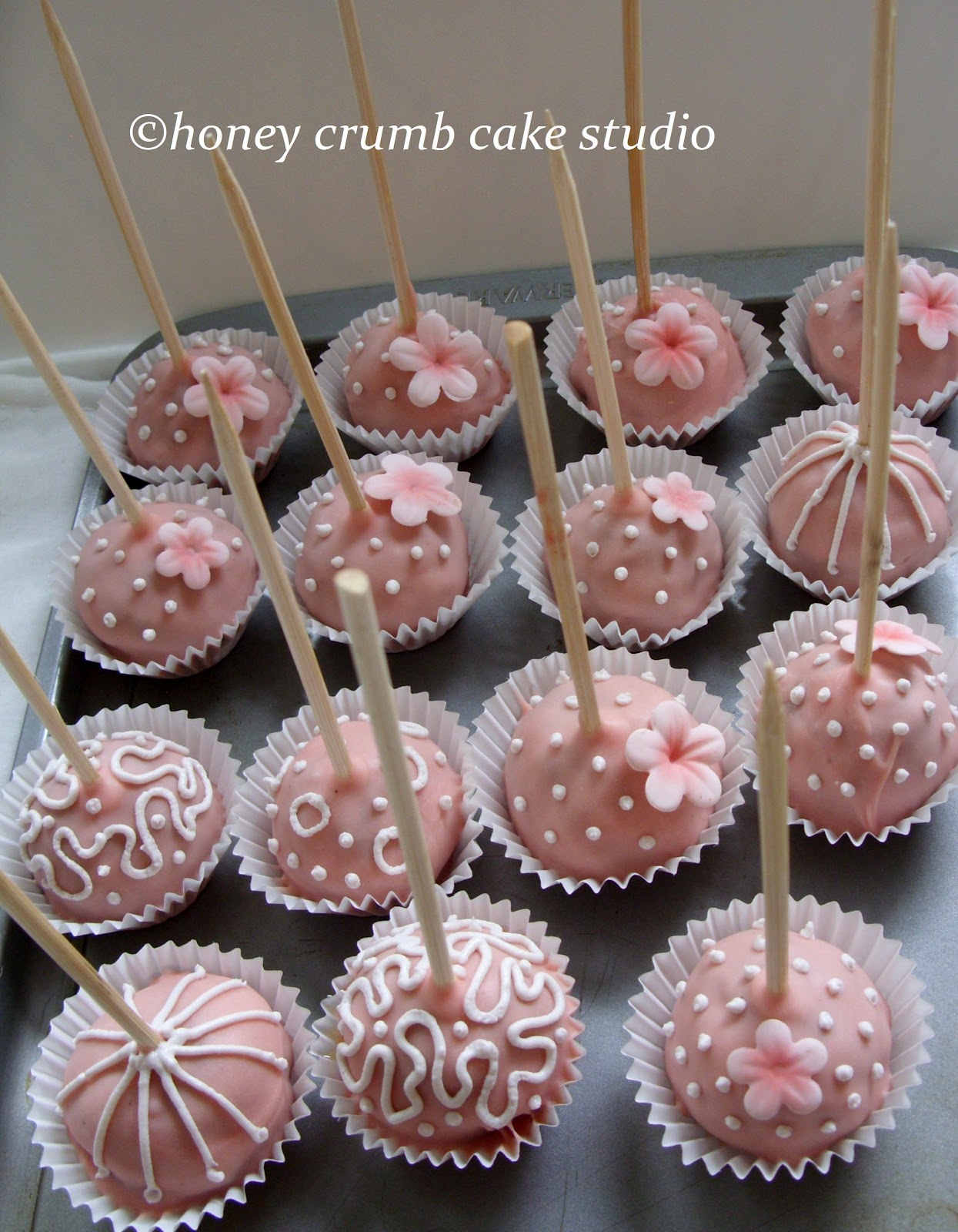 Wedding Cake Pops Centerpieces Viewing Gallery
